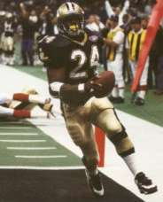 Mario Bates led the 1994 New Orleans Saints in Rushing