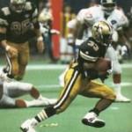 Tyrone Hughes, 1994 New Orleans Saints Kick Returner
