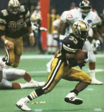 Tyrone Hughes, 1994 New Orleans Saints Kick Returner