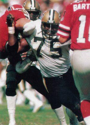 New Orleans Saints Sack Specialist Bruce Clark
