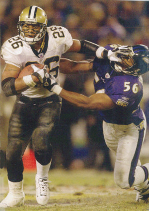 Deuce McAllister 2002 New Orleans Saints