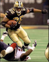 Deuce McAllister 2003 New Orleans Saints