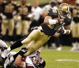 Deuce McAllister, 2003 New Orleans Saints