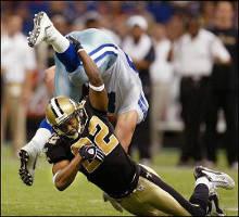 Freddie Thomas 2003 New Orleans Saints