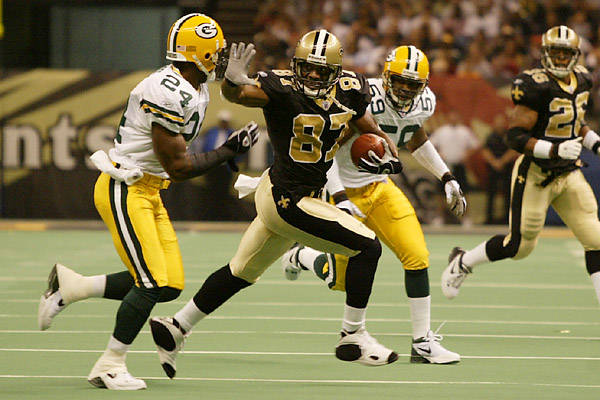 Top 10 All-Time New Orleans Saints Leaders – Most Touchdown Catches in a Season