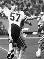Ricky Jackson, New Orleans Saints Hall of Fame Linebacker