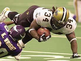 Ricky Williams 2001 New Orleans Saints