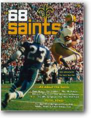 1968 New Orleans Saints Yearbook