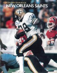 Yearbook for the 1984 New Orleans Saints Season