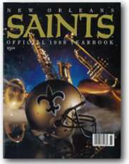 1988 New orleans Saints Yearbook