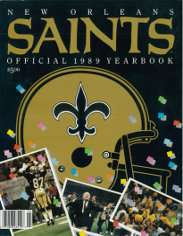 1989 New Orleans Saints Yearbook