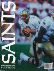 1992 New Orleans Saints Yearbook