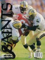 1993 New Orleans Saints Yearbook