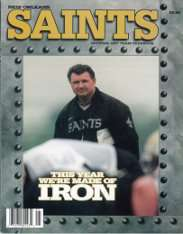 1997 New Orleans Saints Yearbook
