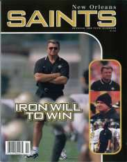 1998 New Orleans Saints Yearbook