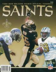 1999 New Orleans Saints Yearbook