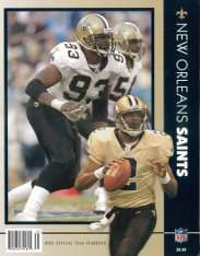 2003 New Orleans Saints Yearbook