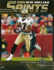 2005 New Orleans Saints Yearbook