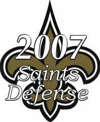 2007 New Orleans Saints Defense