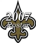 New Orleans Saints 2007 NFL Season Team Roster