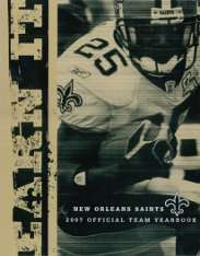 2007 New Orleans Saints Yearbook