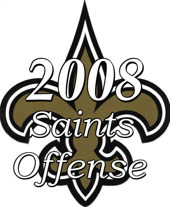 The 2008 New Orleans Saints Offense