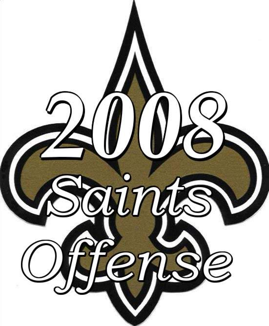 2008 New Orleans Saints Offense