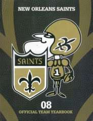 2008 New Orleans Saints Yearbook