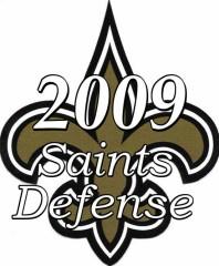 The 2009 New Orleans Saints Defense