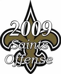 The 2009 New Orleans Saints Offense