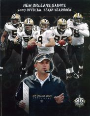 2009 New Orleans Saints Yearbook Cover
