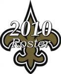 New Orleans Saints 2010 NFL Season Team Roster