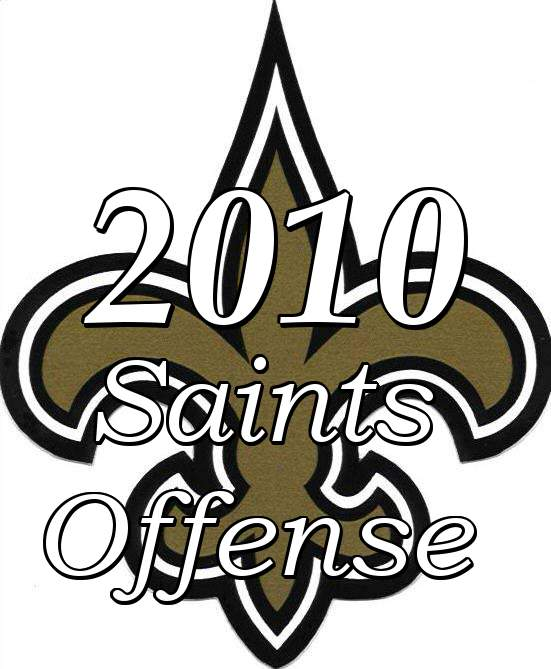 The 2010 New Orleans Saints Offense