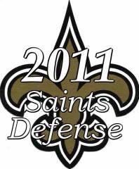 2011 New Orleans saints Defense