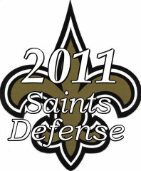 2011 New Orleans saints Defense