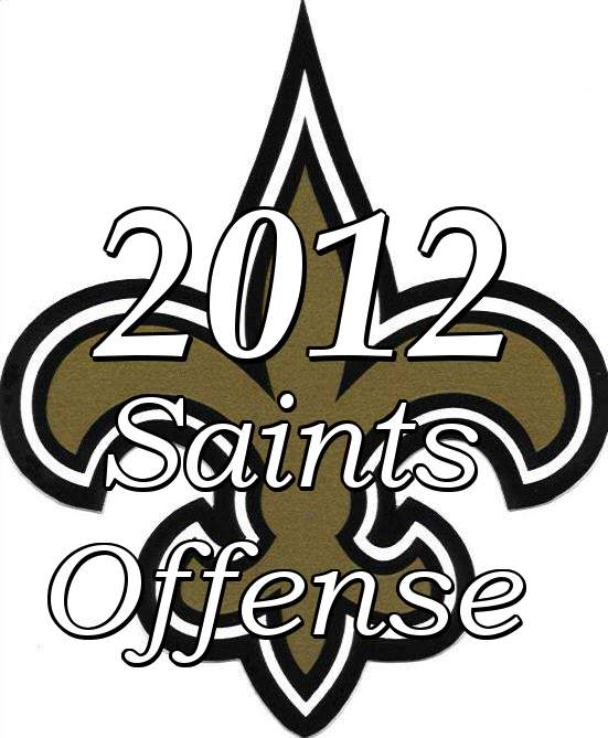 2012 New Orleans Saints Offense