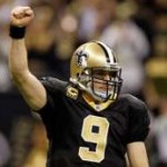 NO Saints Quarterback Drew Brees