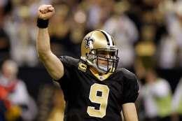 NO Saints Quarterback Drew Brees