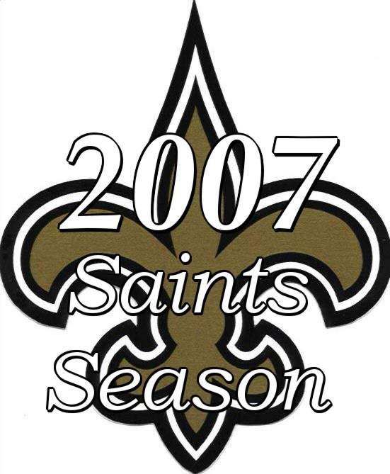 2007 New Orleans Saints NFL Season