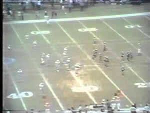 Tom Dempsey's record breaking 63 yard field goal