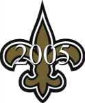 New Orleans Saints 2005 NFL Season Team Roster