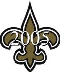 New Orleans Saints 2005 NFL Season Team Roster