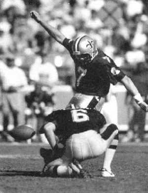 Morten Andersen NO Saints kicker 1982-1994