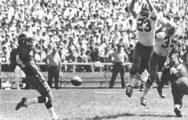 Dave Whitsell of the 1967 New Orleans Saints