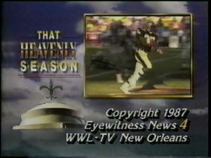 That Heavenly Season:1987 N.O. Saints part 6