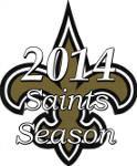 The 2014 New Orleans Saints Season