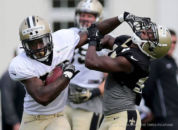 Saints Training Camp 2014