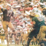 Billy Kilmer of the New Orleans Saints in 1967