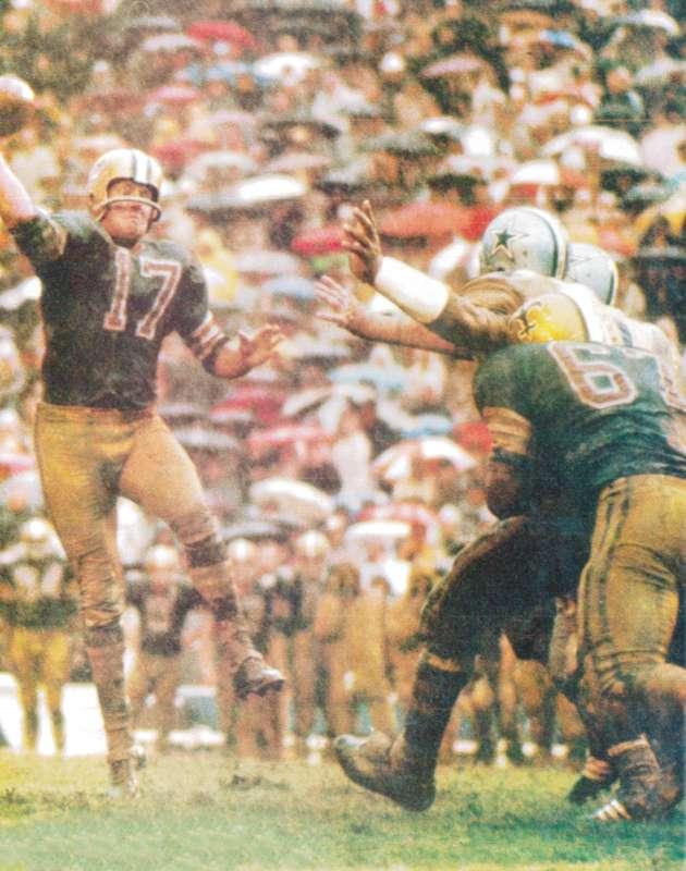 Billy Kilmer 1967 Saints Cowboys