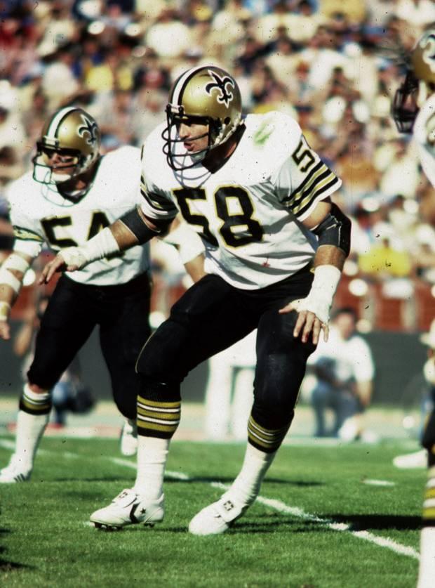 Joe Federspiel 1972-1980 New Orleans Saints Linebacker